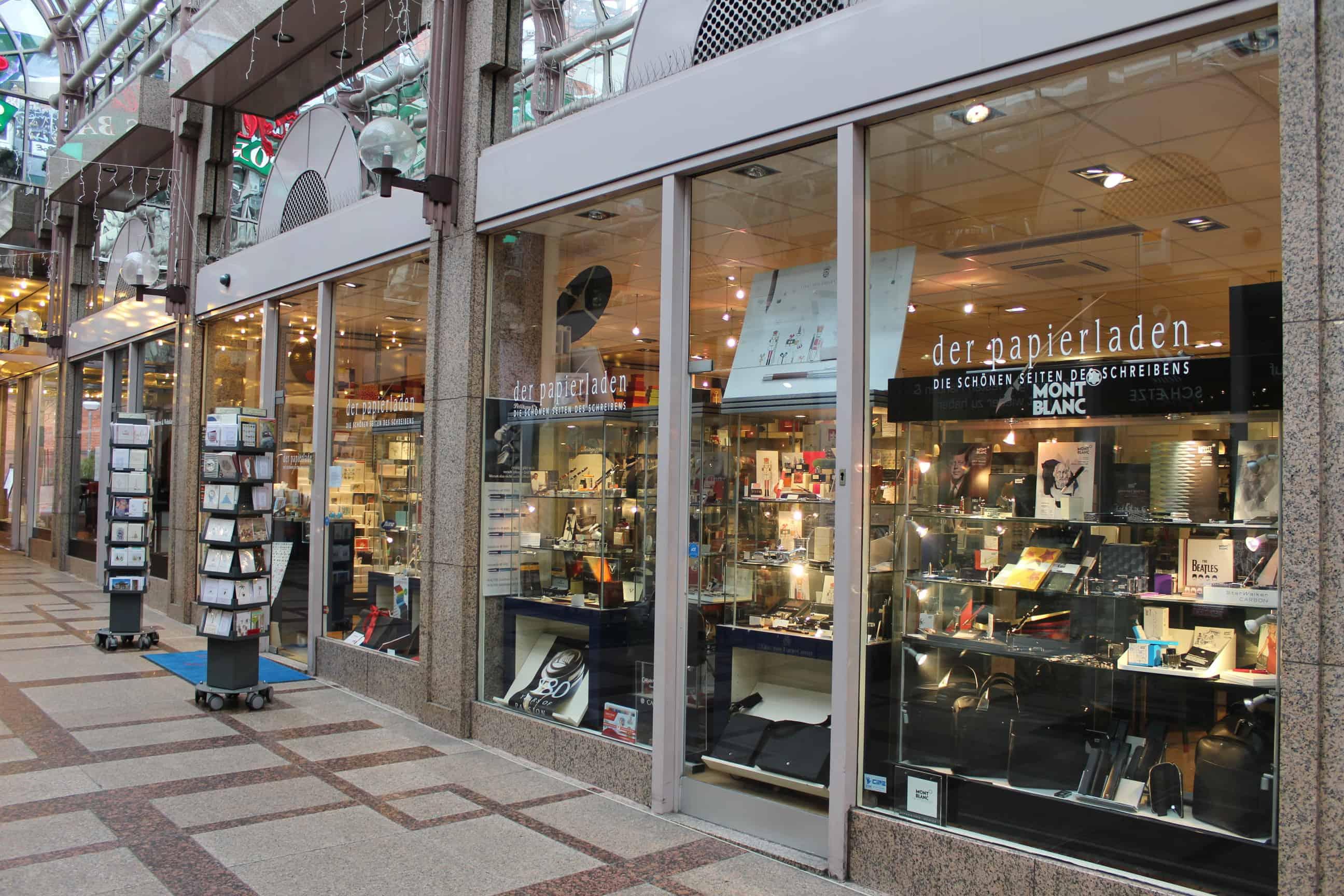 Der Papierladen In Der Arcade Von Wiesbaden