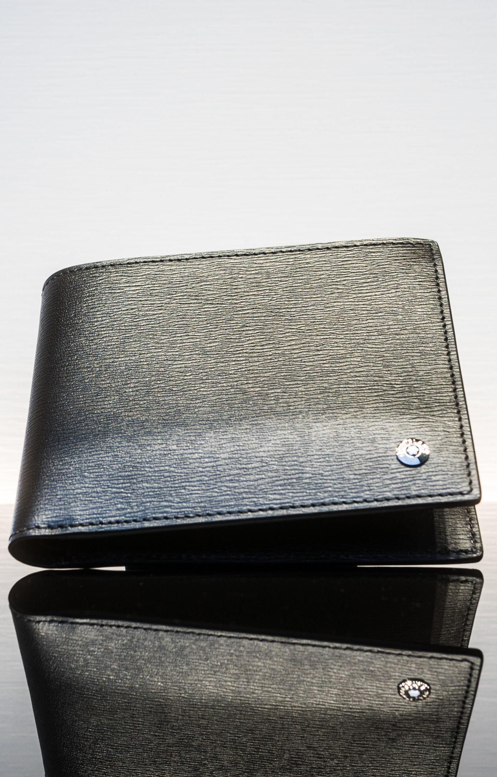 Montblanc Brieftasche 8 Cc Schwarz/grau
