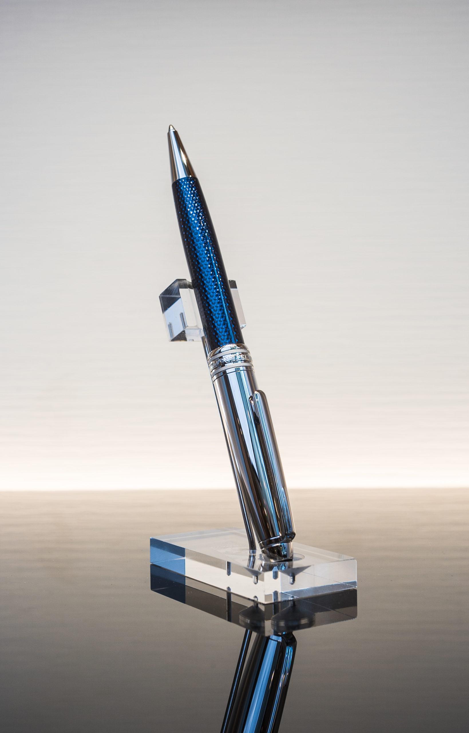 Montblanc Meisterstück Solitaire Doué Blue Hour Classique Kugelschreiber