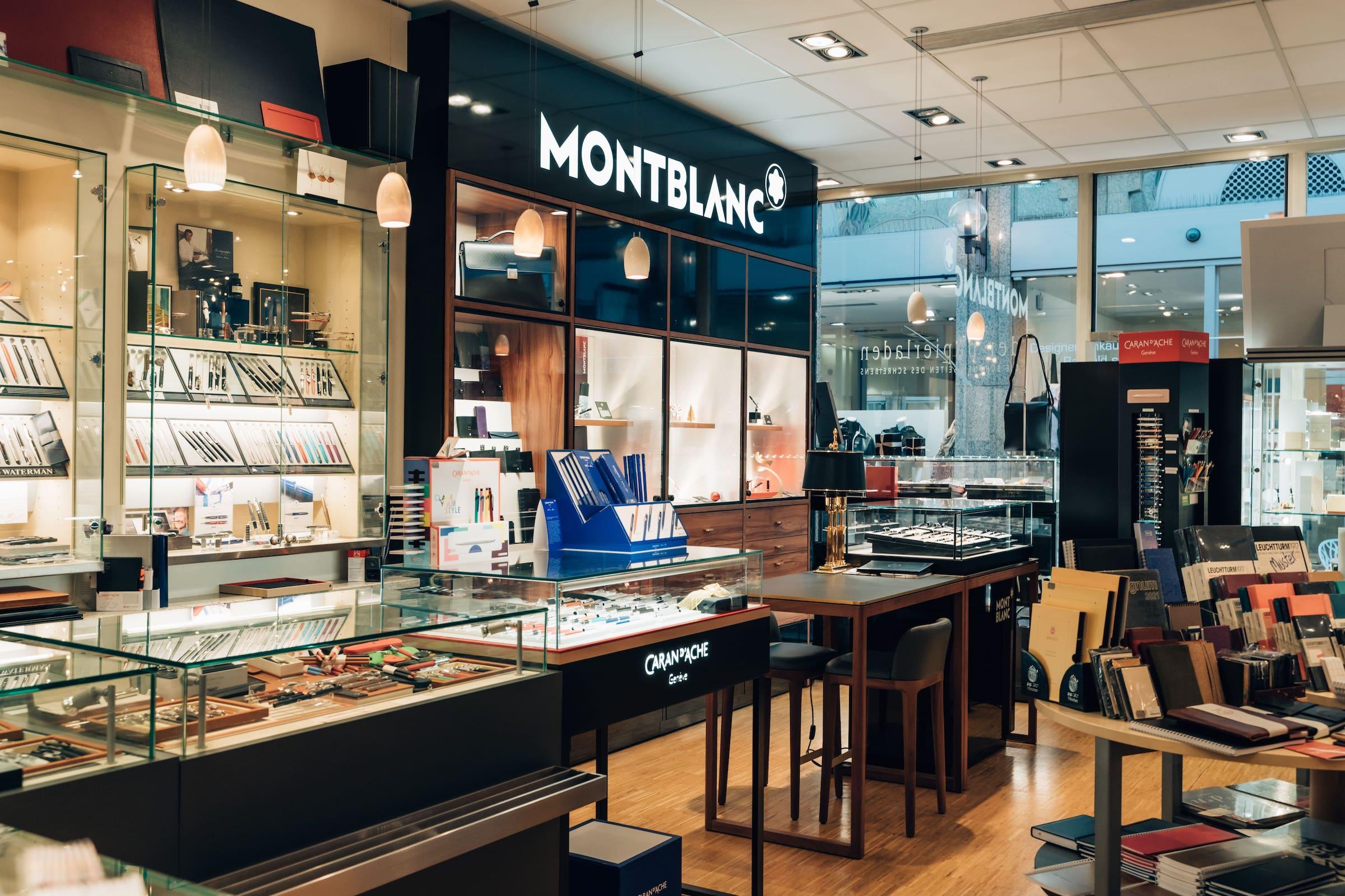 Der Papierladen Wiesbaden Schreibwaren Schreibgeräte Montblanc